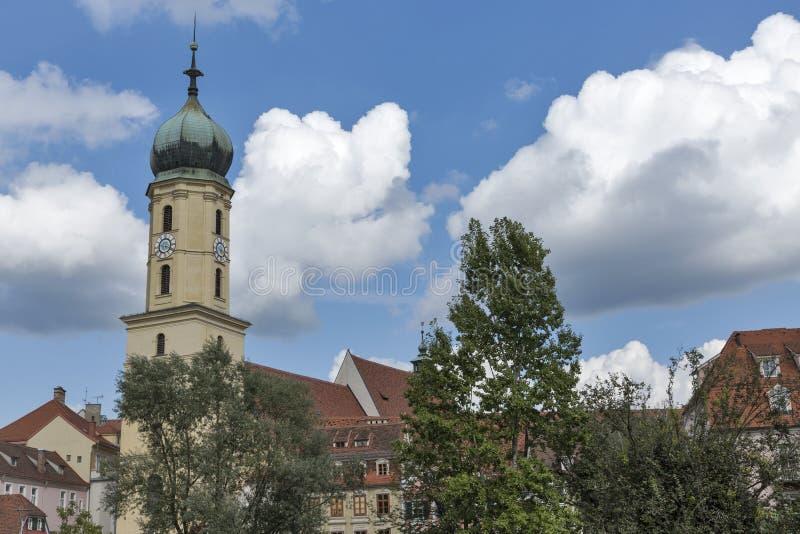 Franciscan church in Graz, Austria royalty free stock photo