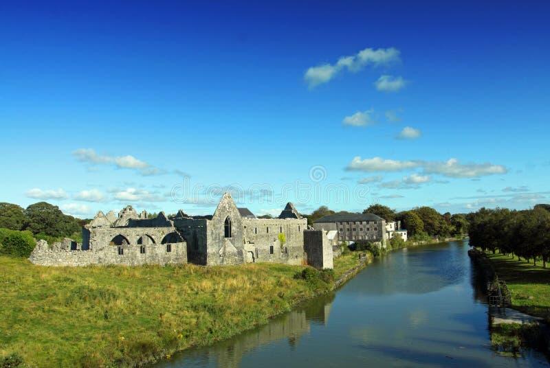 Franciscan Friary Co. Limerick Ireland. Franciscan Friary Askeaton County Limerick Ireland stock image