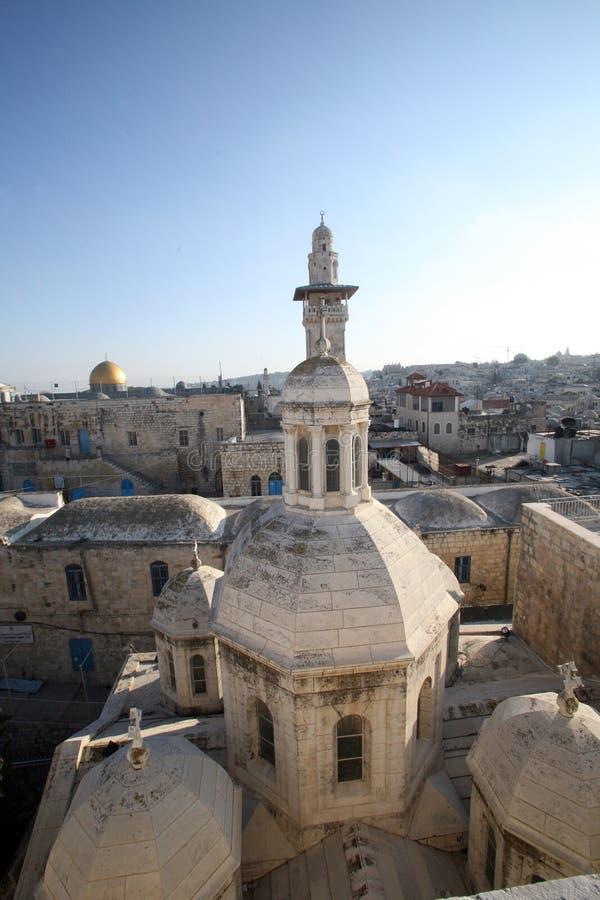 Franciscan Kapel van de Veroordeling in Jeruzalem royalty-vrije stock fotografie
