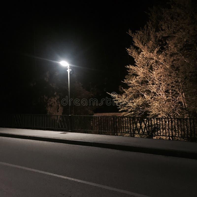 Francisco bay bridge ca nocy razem San zdjęcia royalty free