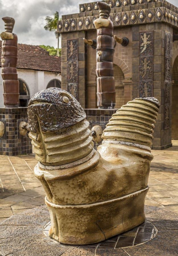 Francisco Brennand Ceramic Museum royalty-vrije stock afbeeldingen
