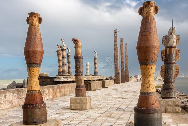 Francisco Brennand Sculptures Park Recife imagem de stock royalty free