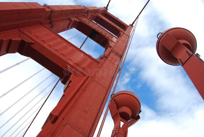 francisco bridżowa brama złoty San fotografia stock