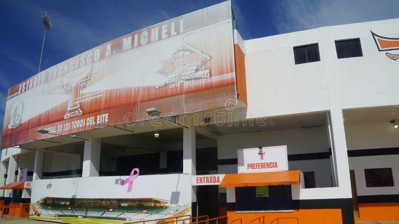 Download Francisco A Estadio De Micheli En El La Romana Foto de archivo editorial - Imagen de capacidad, reconstrucción: 64205073