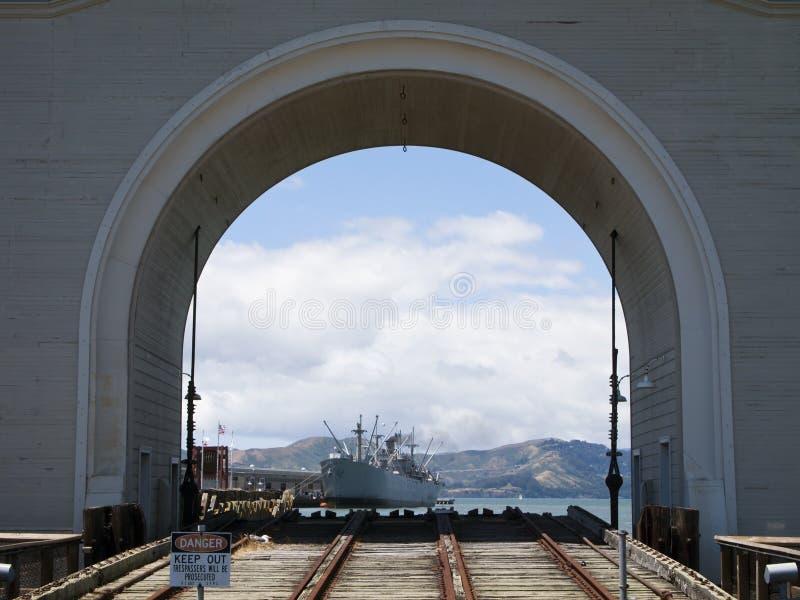 Francisco-Hafen stockfotografie