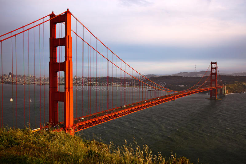 Francisco Kalifornijskie gate bridge złoty San obraz royalty free