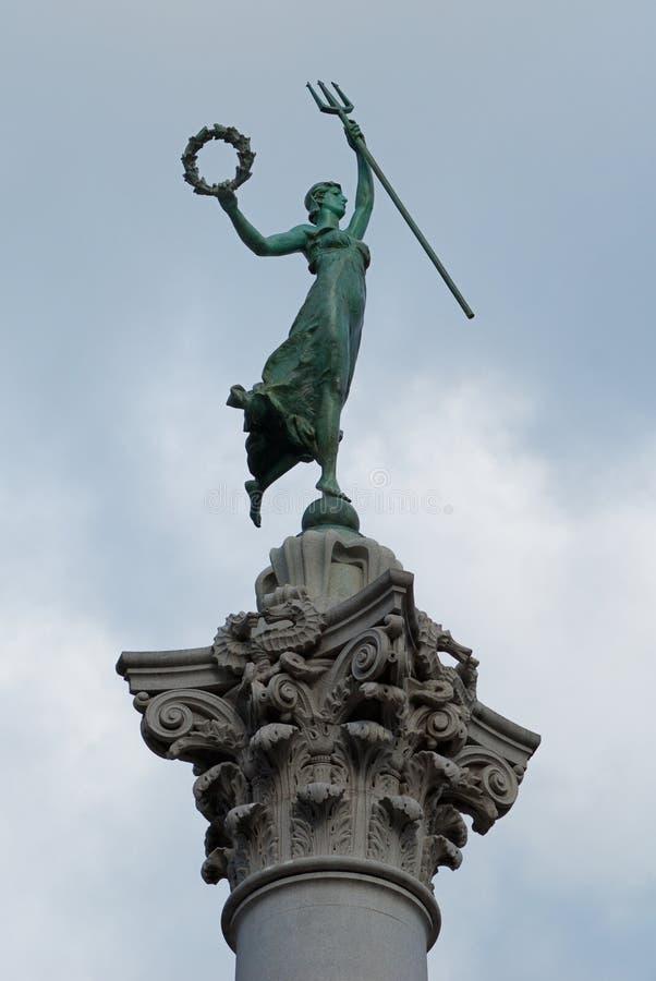 francisco monumentsan fyrkantig union royaltyfria foton