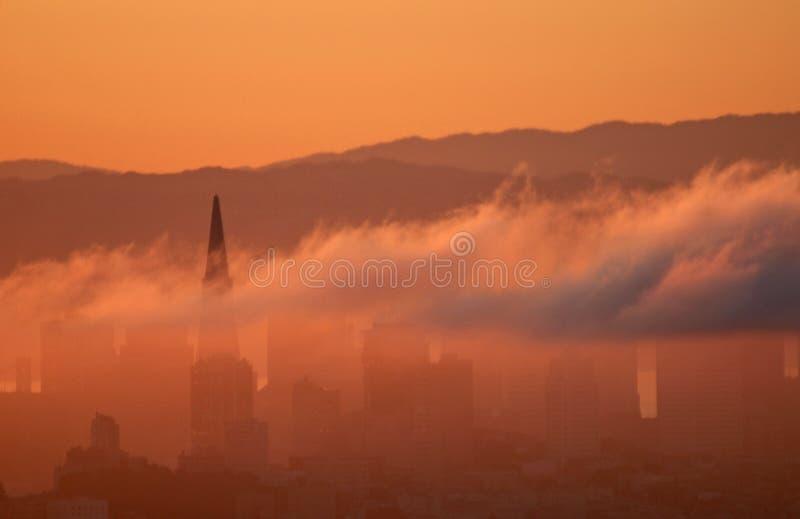 Francisco-Nebel lizenzfreies stockfoto