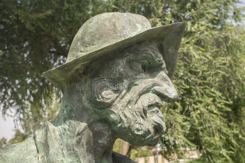 Francisco Pizarro Spanish Conqueror d'Inca Empire, sculpture images libres de droits