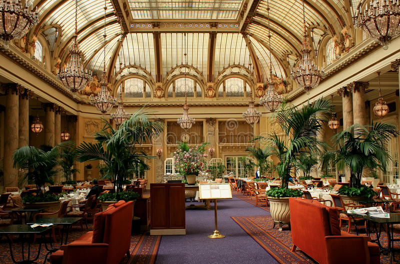 francisco restauran hotelowy wewnętrzny luksusowy San obrazy stock