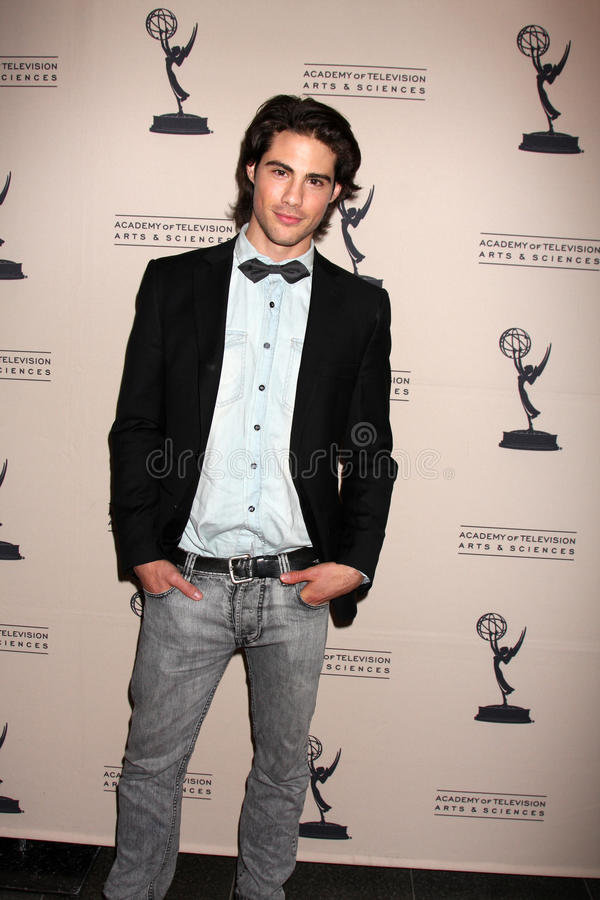 Francisco San Martin arriving at the Academy of Television Arts and Sciences Daytime Emmy Nominee Reception