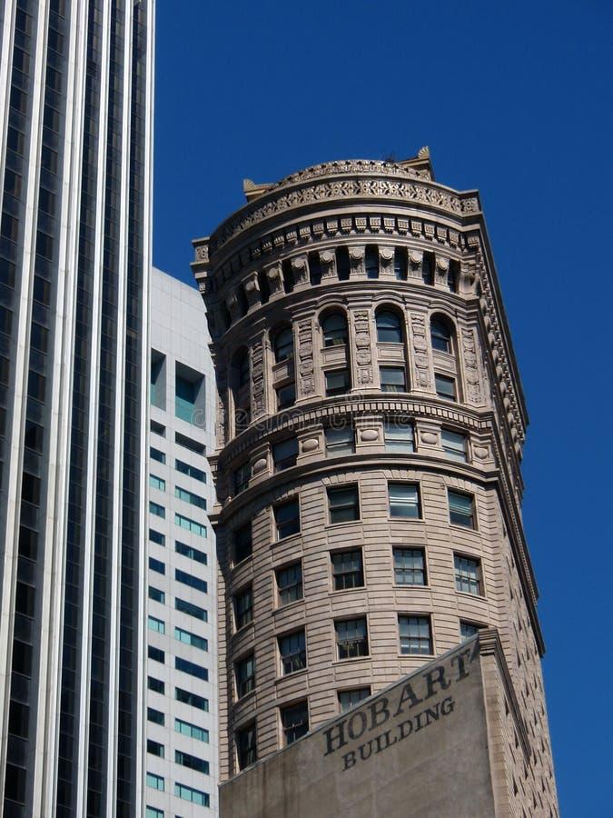 francisco san skyskrapa royaltyfria foton