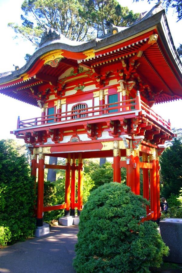 francisco trädgårds- japansk san tea royaltyfria foton