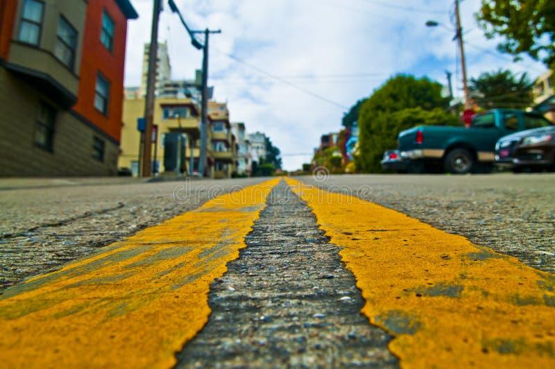 francisco ulica San fotografia royalty free