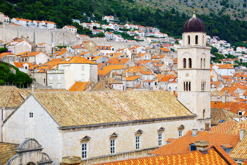 Franciszkanin Monastety, Dubrovnik zdjęcie stock