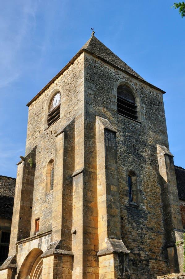 Francja, Świątobliwi Genies kościelni w Dordogne obraz royalty free