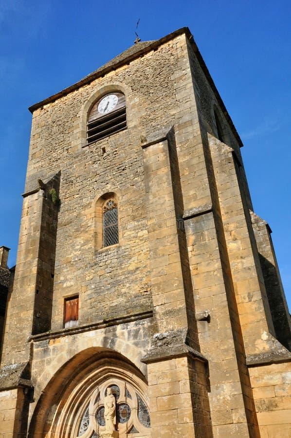 Francja, Świątobliwi Genies kościelni w Dordogne obraz stock
