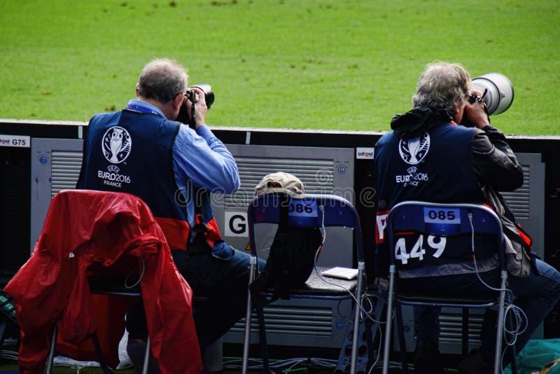 Francja euro futbolu sportów 2016 fotografowie obrazy stock