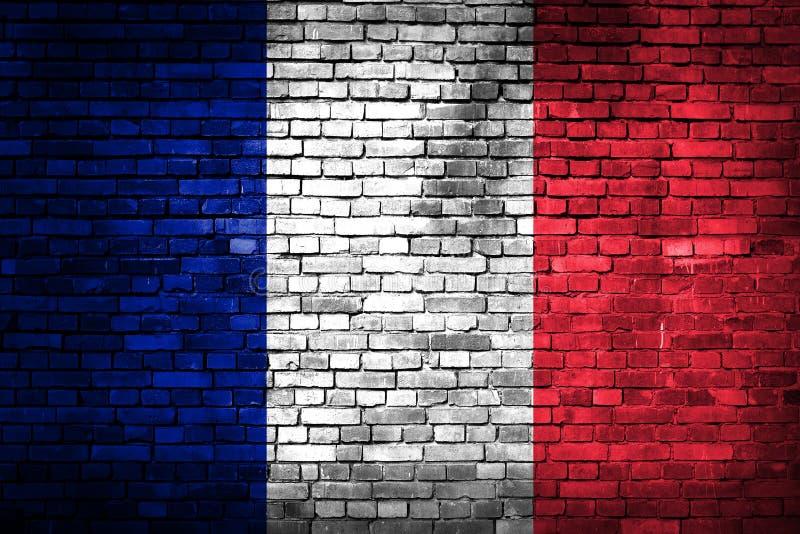 Francja flaga fotografia stock