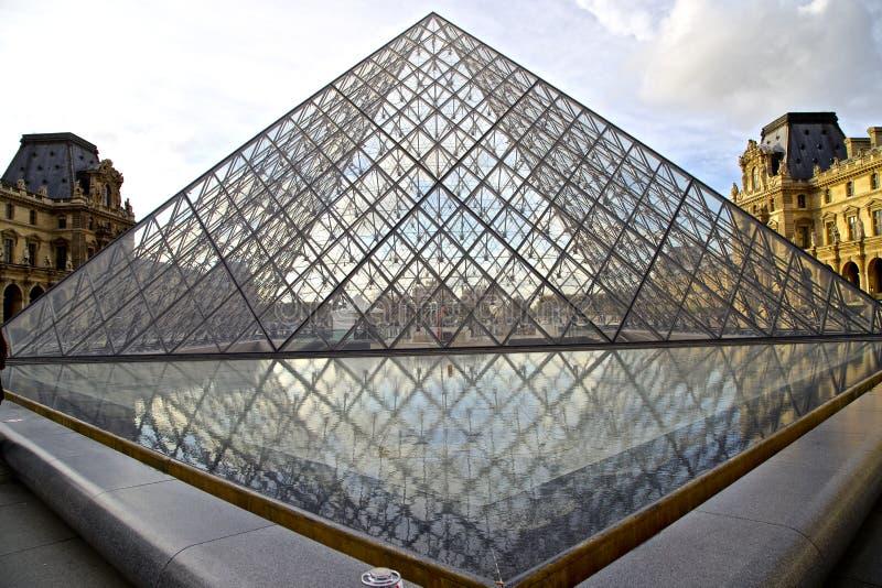 Francja louvre muzeum - museu robi louvre França zdjęcia stock