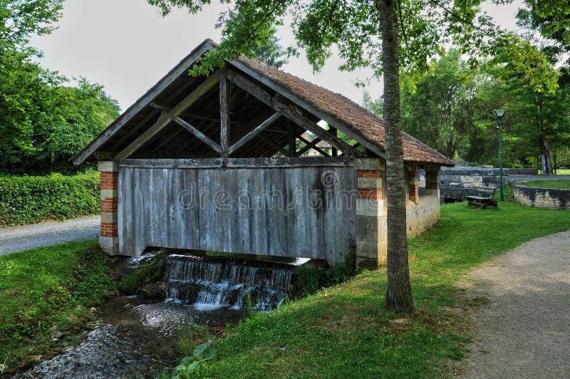 Francja, malownicza wioska Świątobliwi Genies w Dordogne obrazy stock