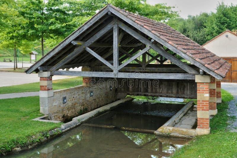 Francja, malownicza wioska Świątobliwi Genies w Dordogne obrazy royalty free