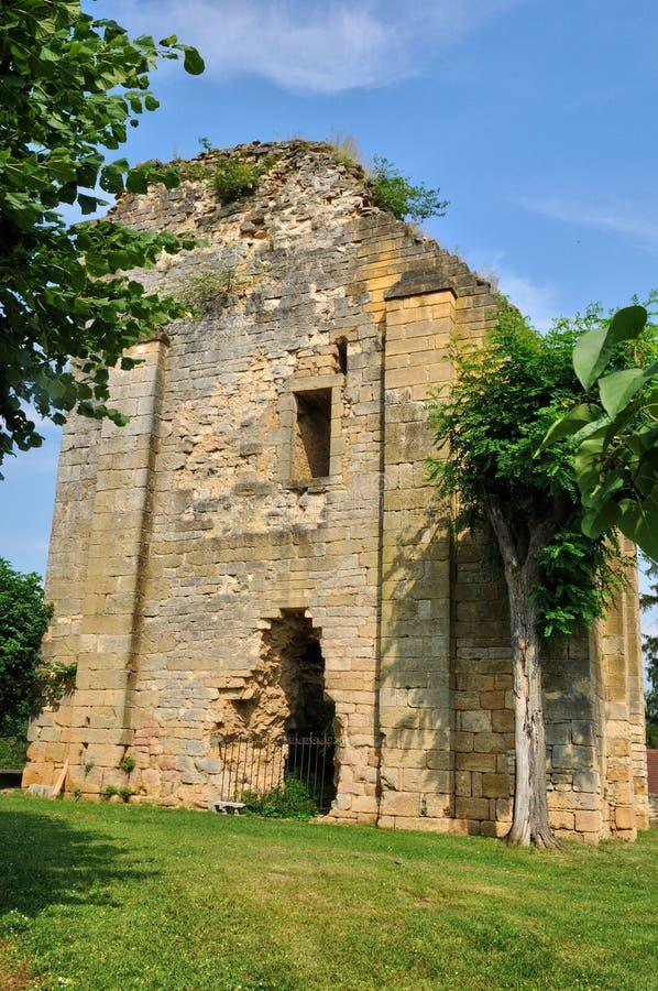 Francja, malownicza wioska Świątobliwi Genies w Dordogne fotografia royalty free