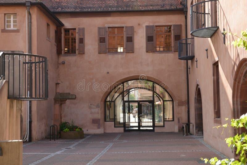 Francja malowniczy miasto Haguenau w basu rhin fotografia stock
