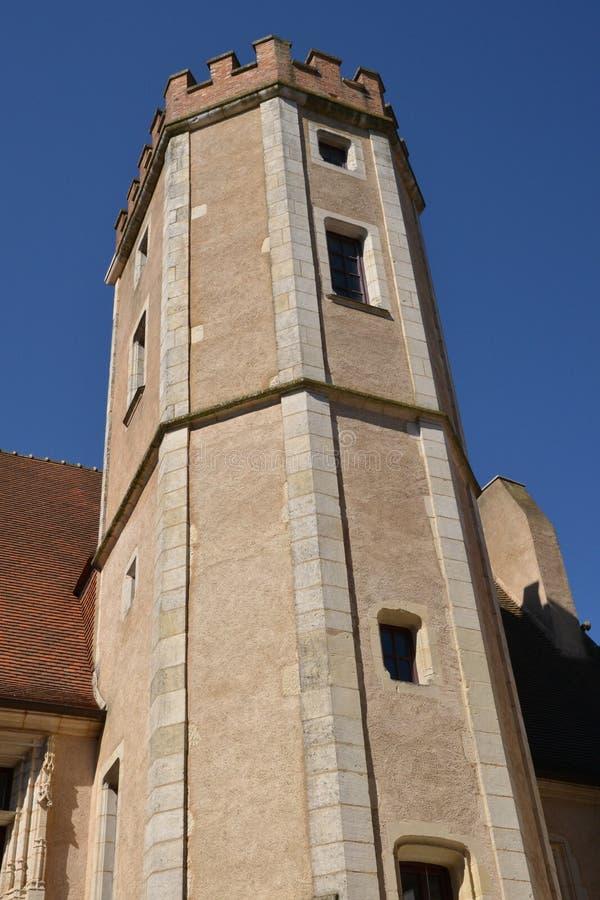 Francja, malowniczy miasto Sancerre w Cher fotografia stock