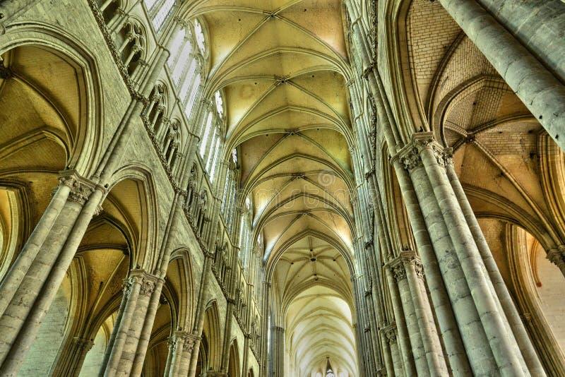 Francja miasto Amiens w Picardie obraz royalty free
