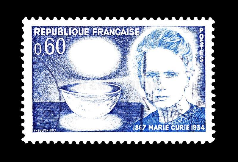 Francja na znaczkach pocztowych obrazy royalty free