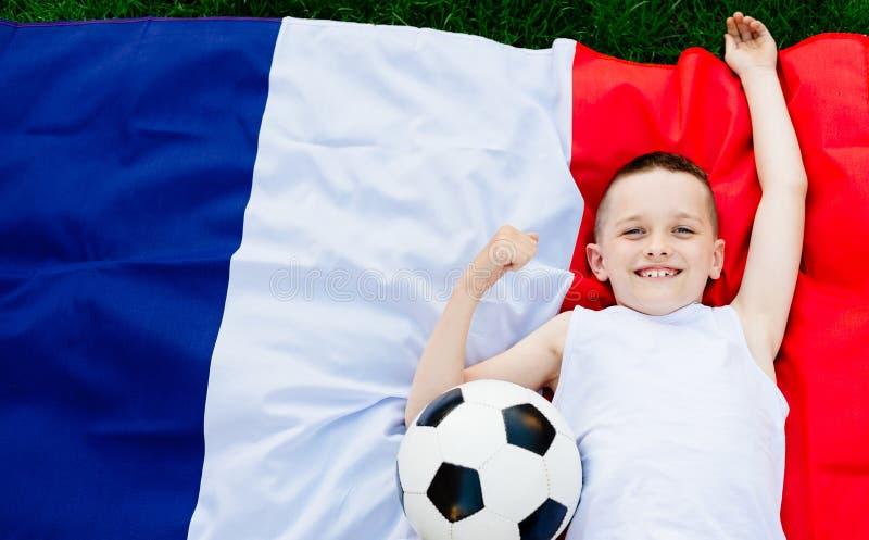 Francja obywatela drużyna futbolowa fotografia stock