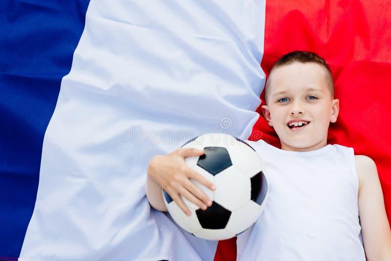 Francja obywatela drużyna futbolowa zdjęcia royalty free