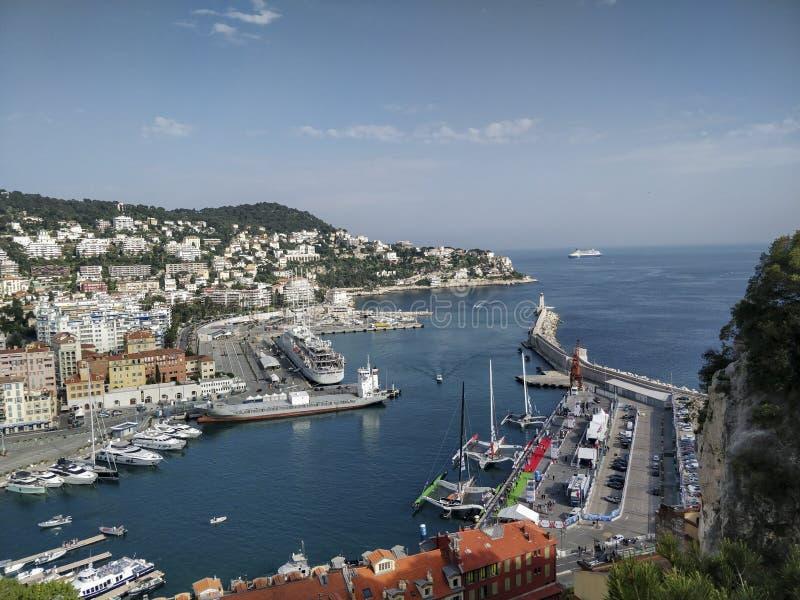 Francja port obraz stock