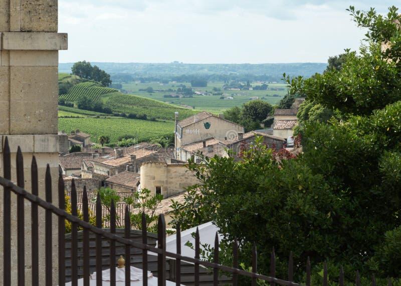 Francja St Emilion fotografia stock