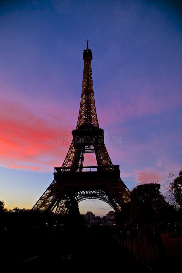 Francja wieża eifla - torre Eiffel França obrazy royalty free