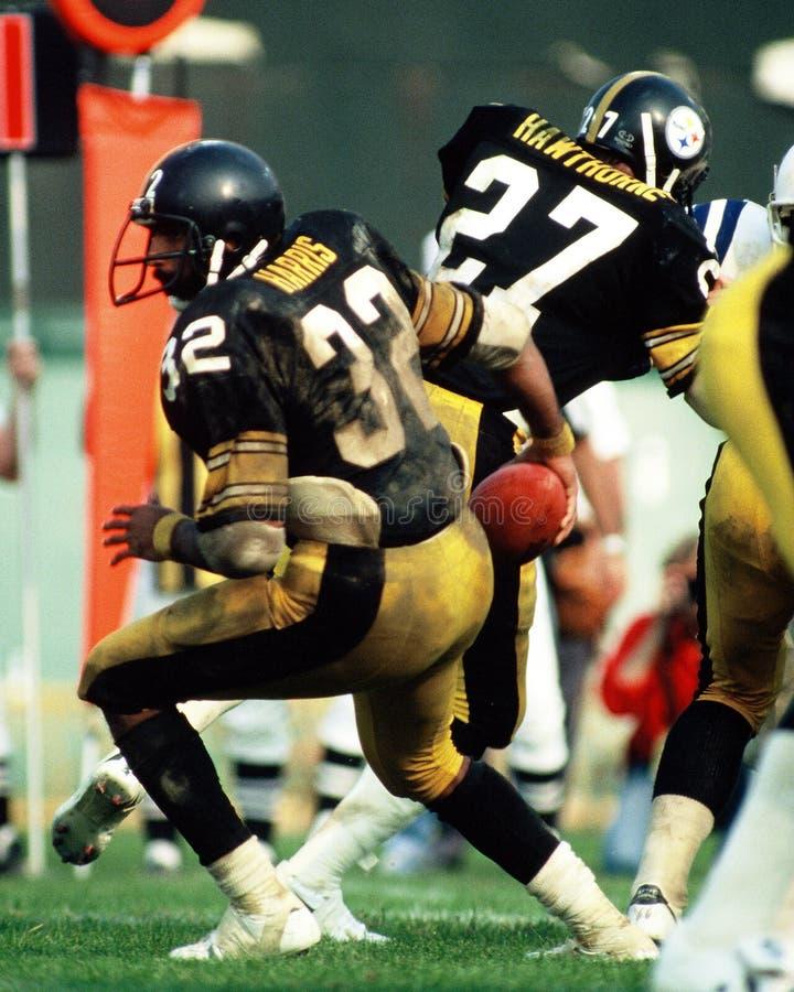 Franco Harris Pittsburgh Steelers stock images