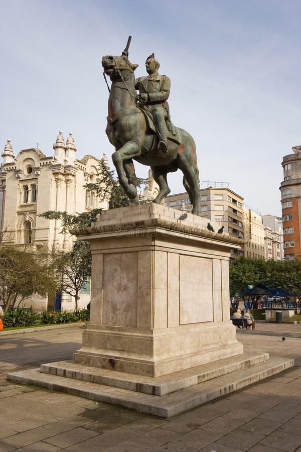 Franco Statue De L Espagne Images stock