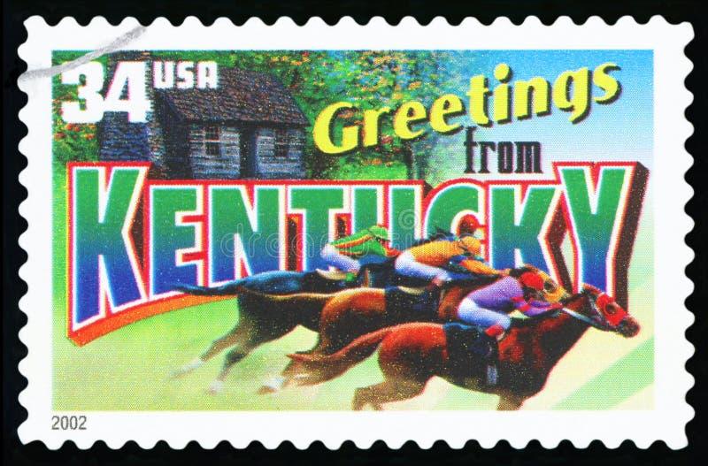 Francobollo degli Stati Uniti fotografie stock