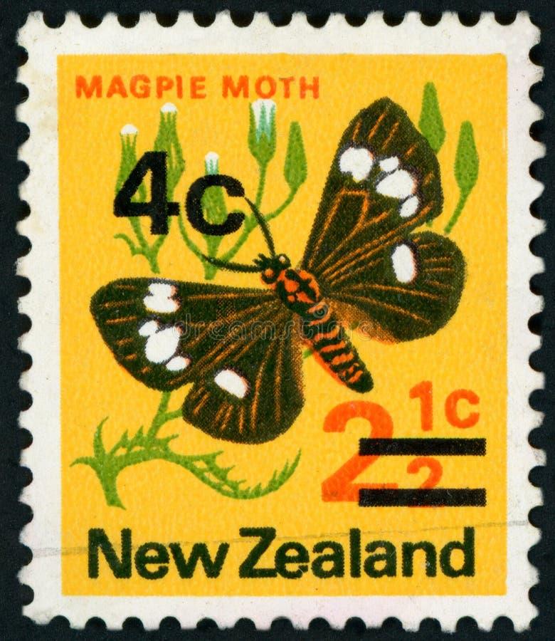 Francobollo - Nuova Zelanda fotografie stock libere da diritti