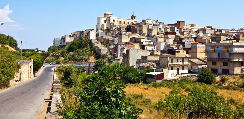 francofonte村庄 库存图片