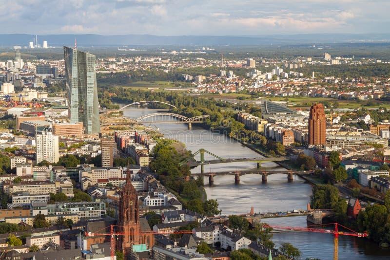 Francoforte sul Meno fotografie stock libere da diritti