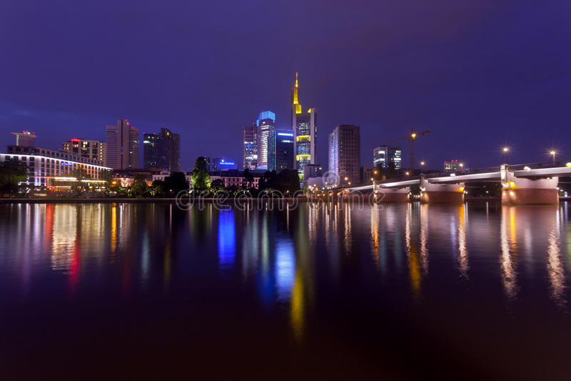 Francoforte sul Meno immagine stock libera da diritti