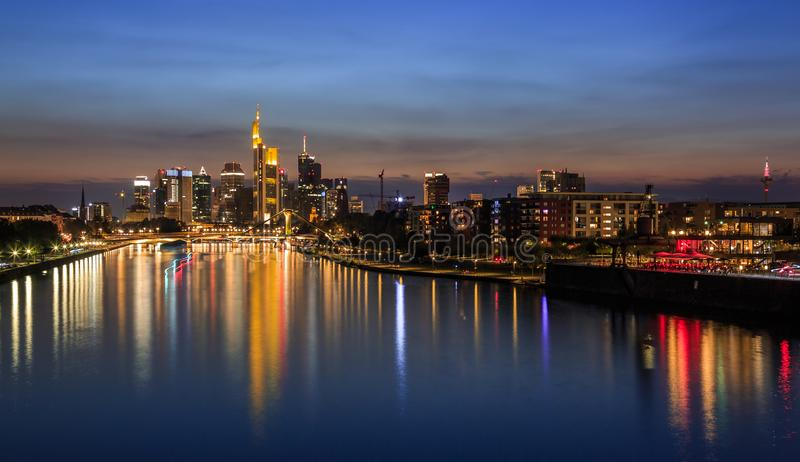 Francoforte sul Meno - la Germania immagine stock