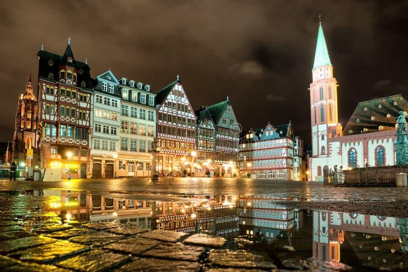 Francoforte sulla conduttura, Germania immagini stock libere da diritti