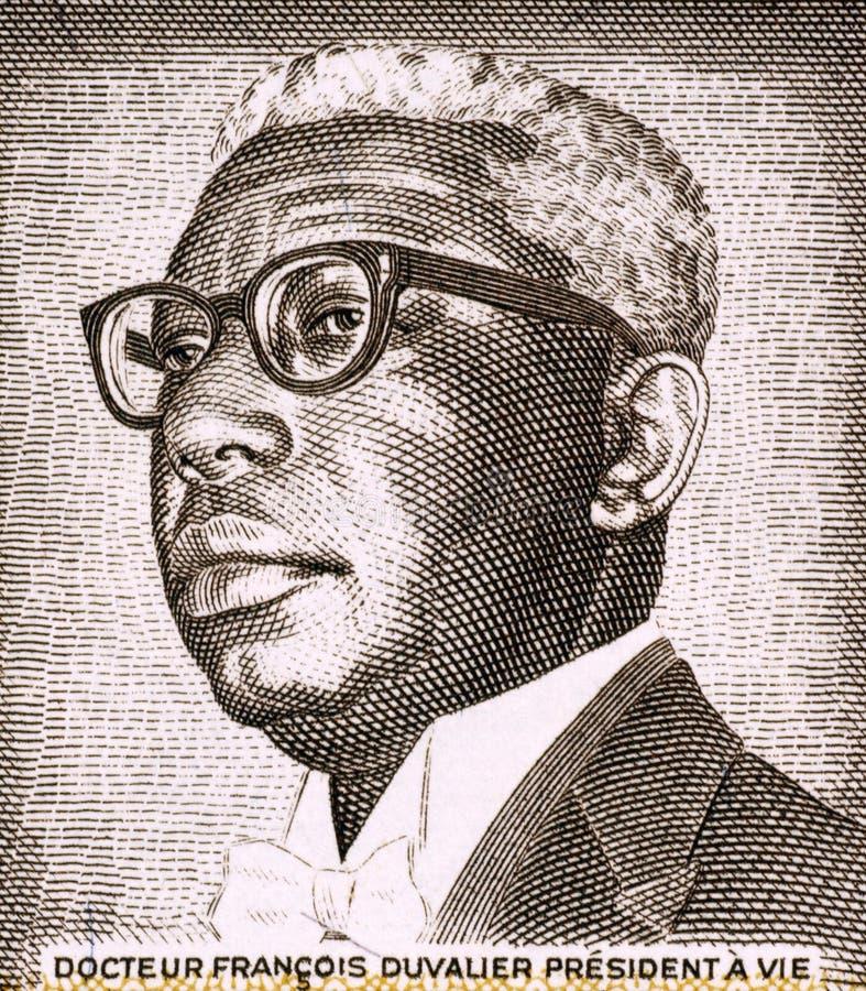 Francois Duvalier imagen de archivo libre de regalías