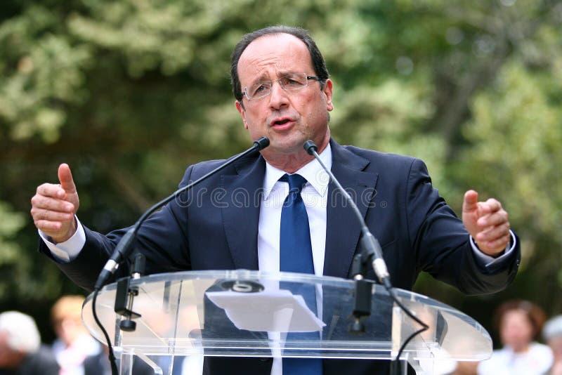 francois francuski hollande polityk fotografia stock
