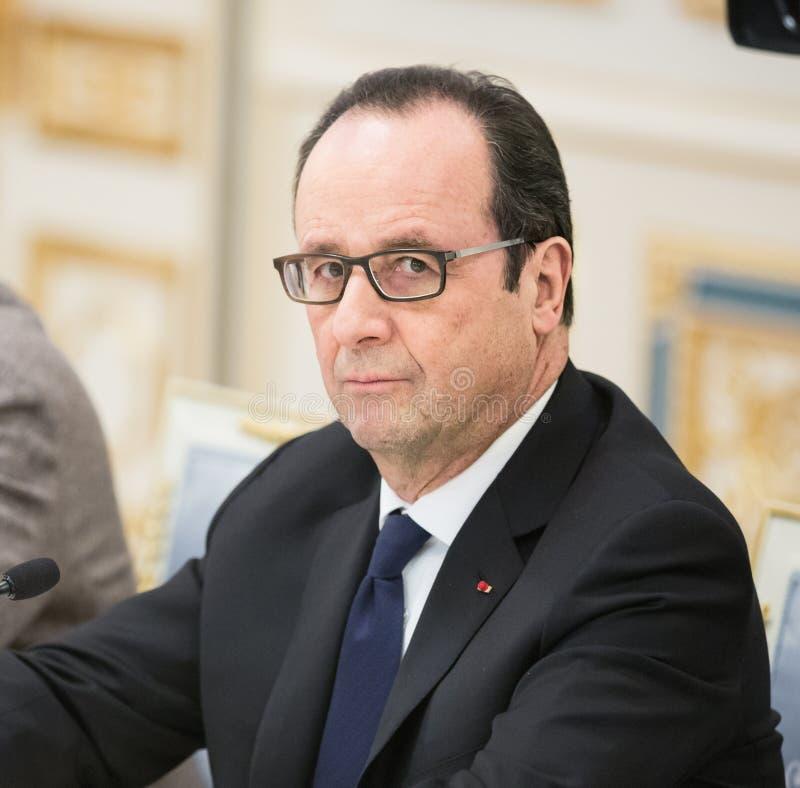 Francois Hollande foto de archivo