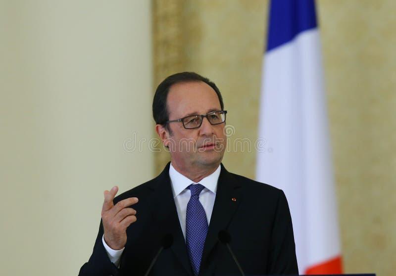 Francois Hollande fotografía de archivo