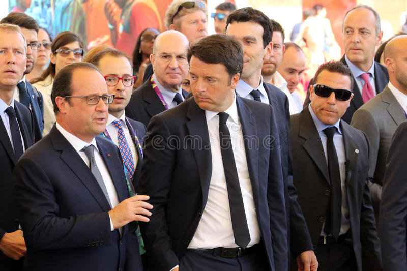 Francois hollande stock images